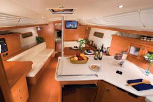 Hunter Yacht Interior